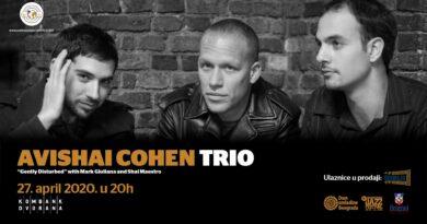 AVISHAI COHEN Trio u Beogradu!